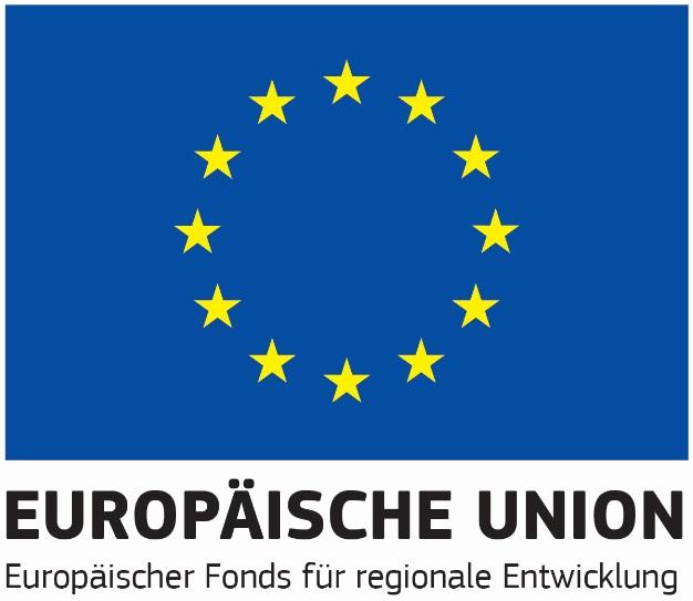 Logo Europäischer Fonds für regionale Entwicklung (EU)