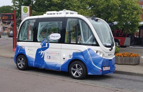 Autonomes Fahrzeug im Einsatz
