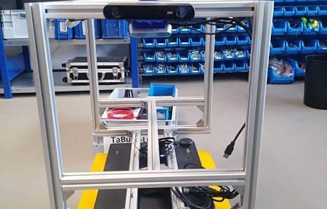 Konstruktion TaBuLaLOG Roboter