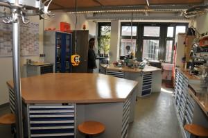 Arbeitsraum der Studierendenwerkstatt